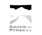 Logotipo Autovía del Pirineo (grises)